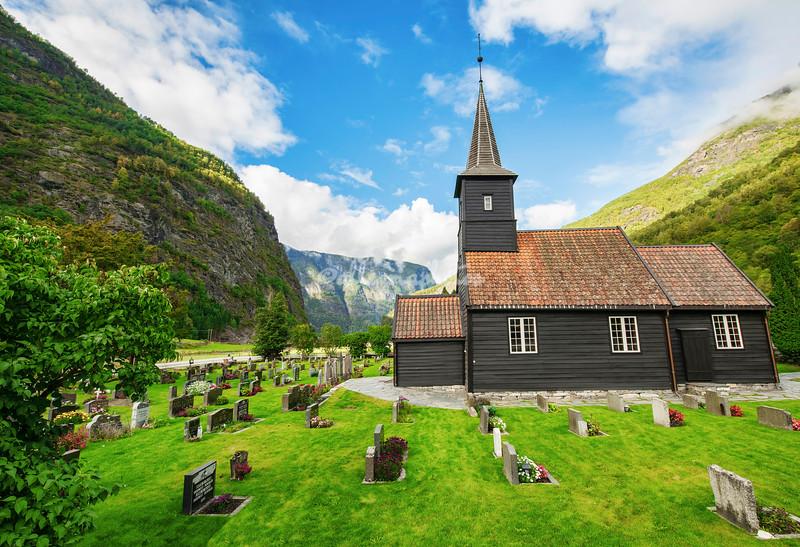 Flåm Church and Cemetery