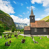 Flåm Church and Cemetery