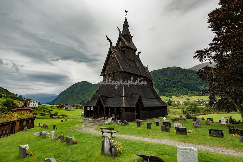 Hopperstad Stave Church, Vikori, Norway