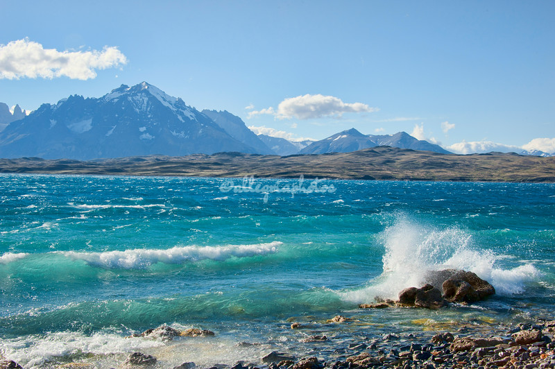 Lake Sarmiento, Torres del Paine, Patagonia, Chile