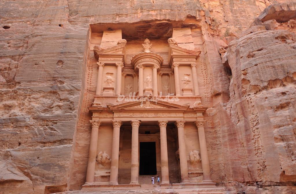 Al-Khazneh, (The Treasury), Petra