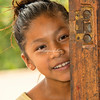 Young girl, Upper Amazon, Peru