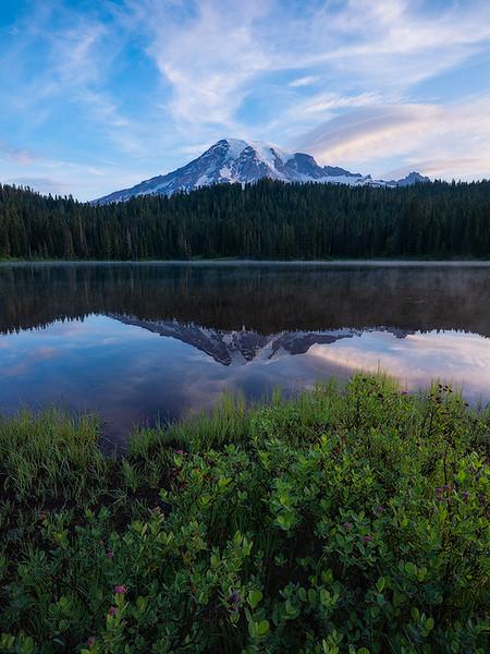 Mt  Rainier Reflection Lakes website