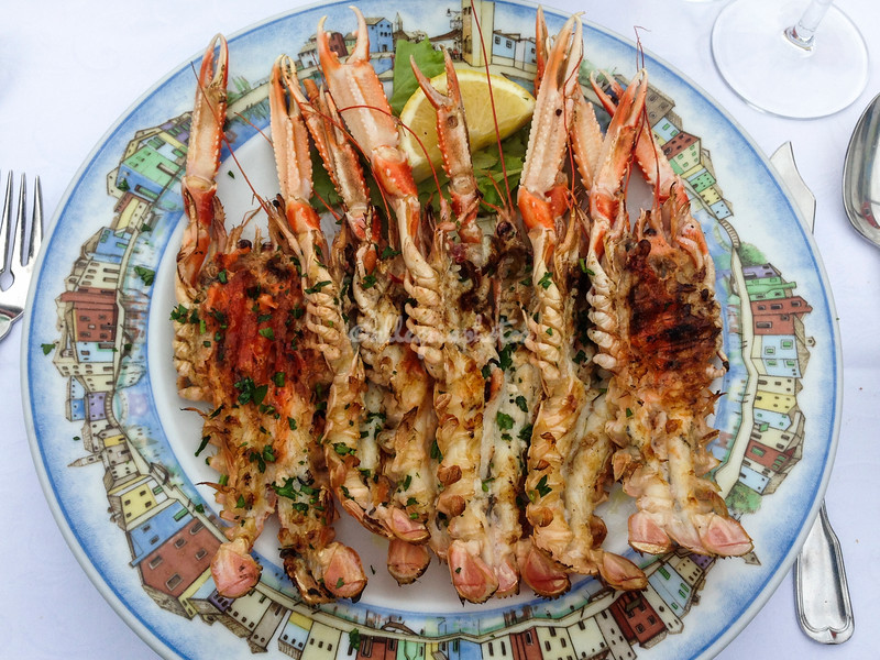 Grilled Scampi, Burano, Italy