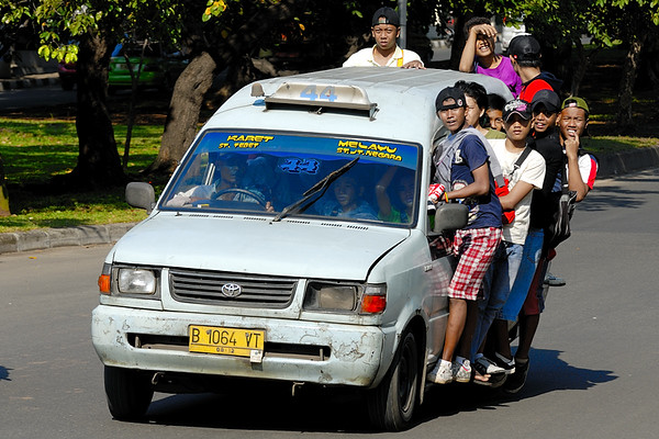 Jakarta and environs 2008