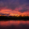 Sunset, Ucayali River, Upper Amazon, Peru