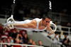 19 April 2008:  Penn State's Tommy Ramos during the 2008 NCAA Men's Gymnastics Championships at Stanford University's Maples Pavilion in Stanford, CA.