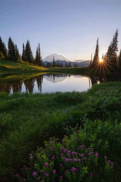 Upper Tipsoo Lake Sunstar website