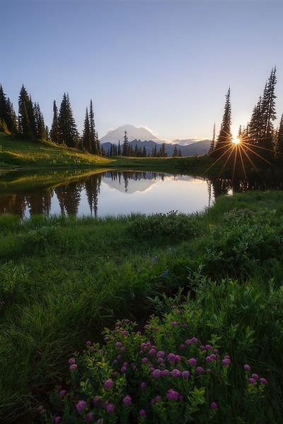 Upper Tipsoo Lake Sunstar website