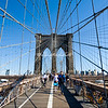 Brooklyn Bridge, New York,