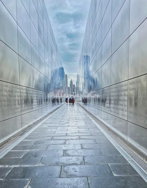 'Empty Sky', 9.11 Memorial, Liberty State Park, Jersey City, New Jersey, USA