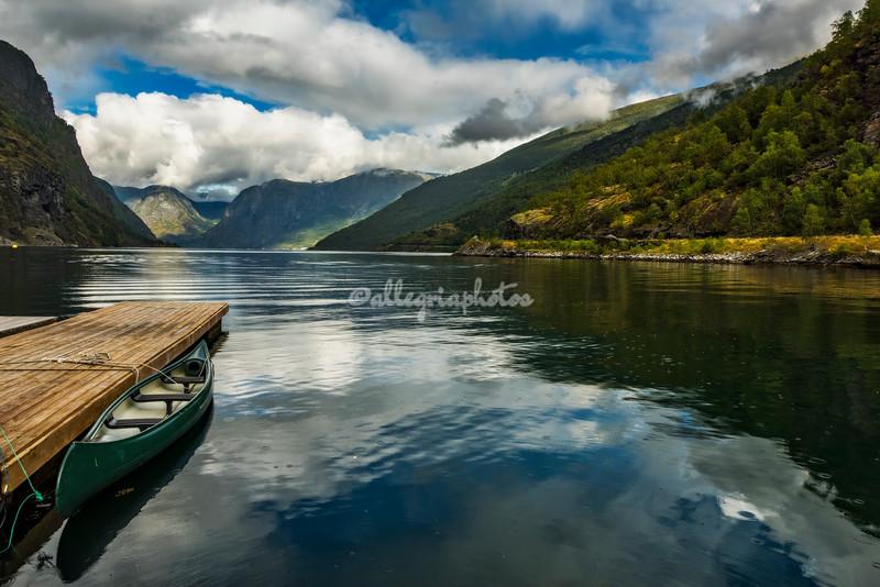 Aurlandsfjord, Flåm, Norway