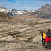 Hiking across Sarpaq Island, Greenland