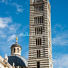 Bell Tower, The Duomo, Siena, Tuscany