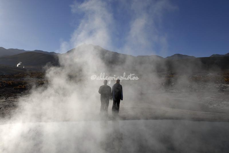Geysers of El Tatio, Atacama Desert, Chile