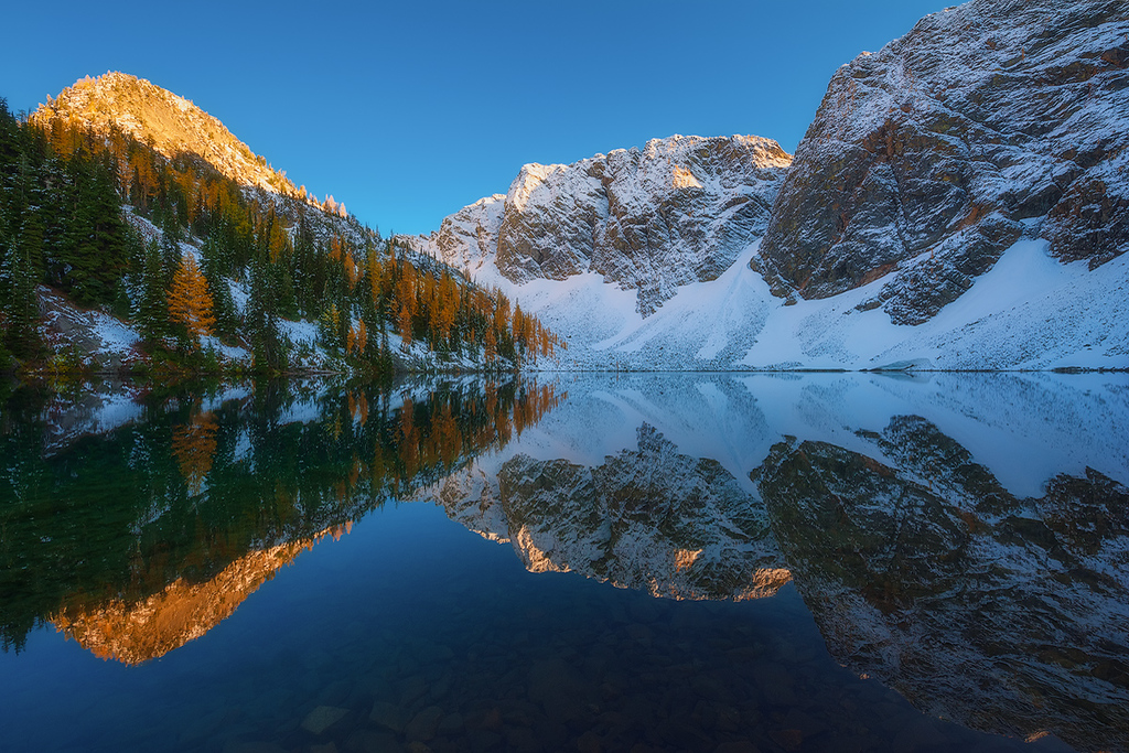 Blue Lake Mirror Mirror copy