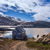 Overlooking Tinit harbor, Greenland