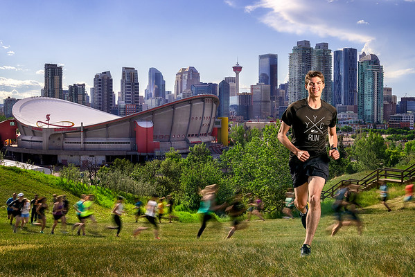 Sheldon Smith and YYC Run Crew for Impact Magazine