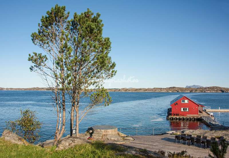 Skjerjhehamn Island near Bergen
