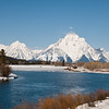 Oxbow Bend and Mt Moran, Grand Teton National Park