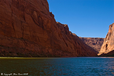 Rafting the Colorado River in Glen Canyon