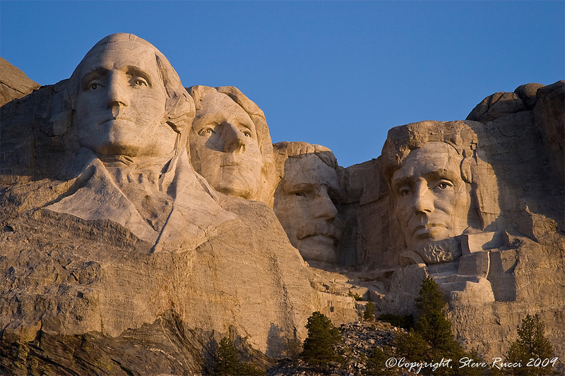 Mount Rushmore National Monument, South Dakota.
