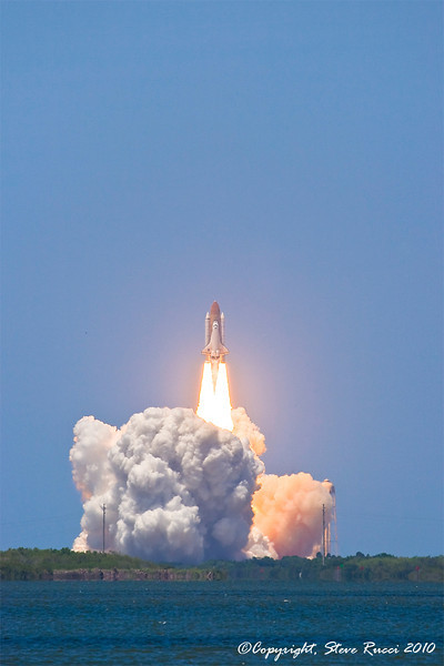 Space Shuttle Atlantis Liftoff