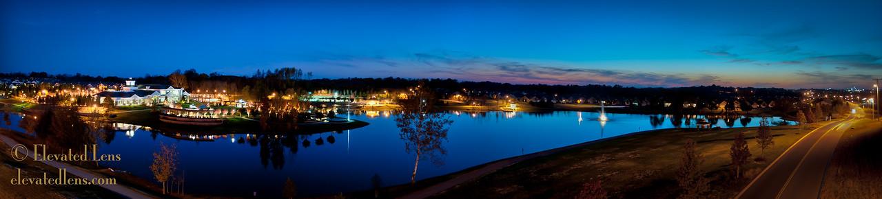 Twilight at Lake Providence