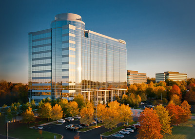 Bridgestone Corporate Office, Nashville, Tennessee    Camera Height - 60' above street.
