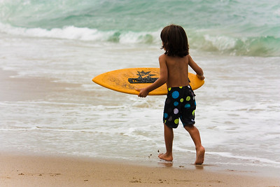 OK MOM...just one more wave.