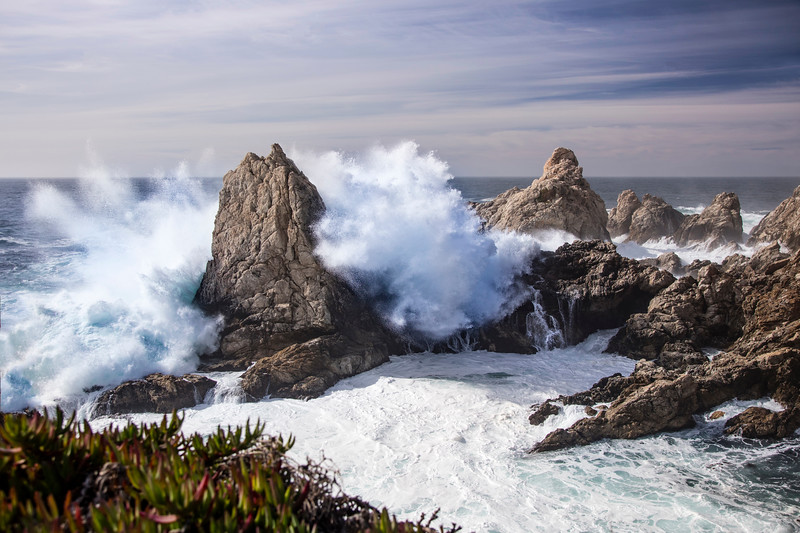 Big Surf at Big Sur