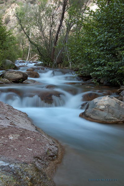 6 Seconds on Fossil Creek<br /> <br /> Timed exposure on part of Fossil Creek.<br /> <br /> Taken 2012.05.05 Fossil Creek, AZ, USA