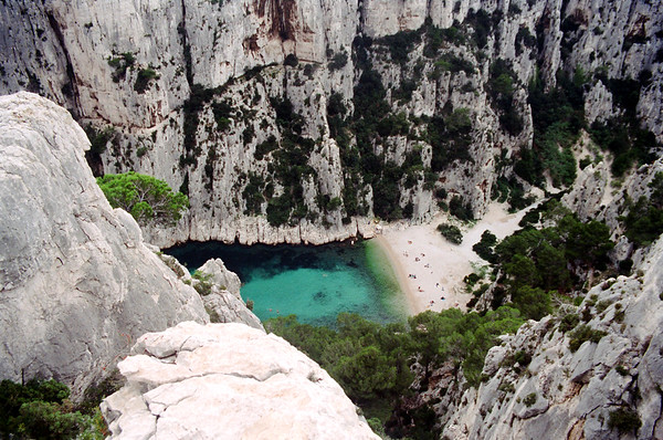Calanque near Casis, France