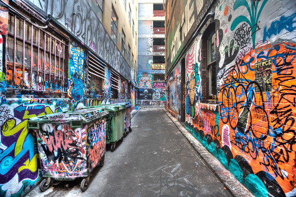 Graffiti Art on Rutledge Lane