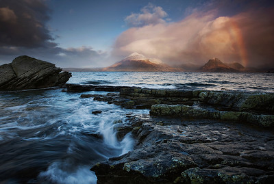 Rainbow at Elgol