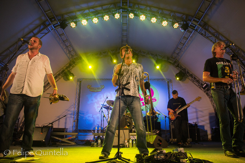 Bonerama<br /> Bourbon Street Fest 2012
