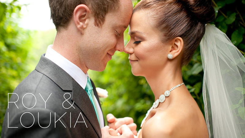 Roy & Loukia's wedding was photographed by Courtney Clarke.