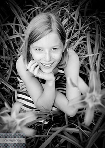 Aliyah Flower Girl bw-