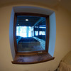 Created window under deck