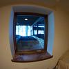 Created window under deck