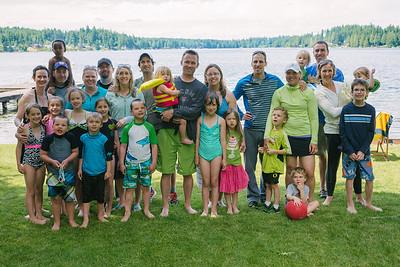 small group at lake house '13