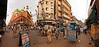 Kolkata Street Corner - Rabindra Sarani and Zakaria Street