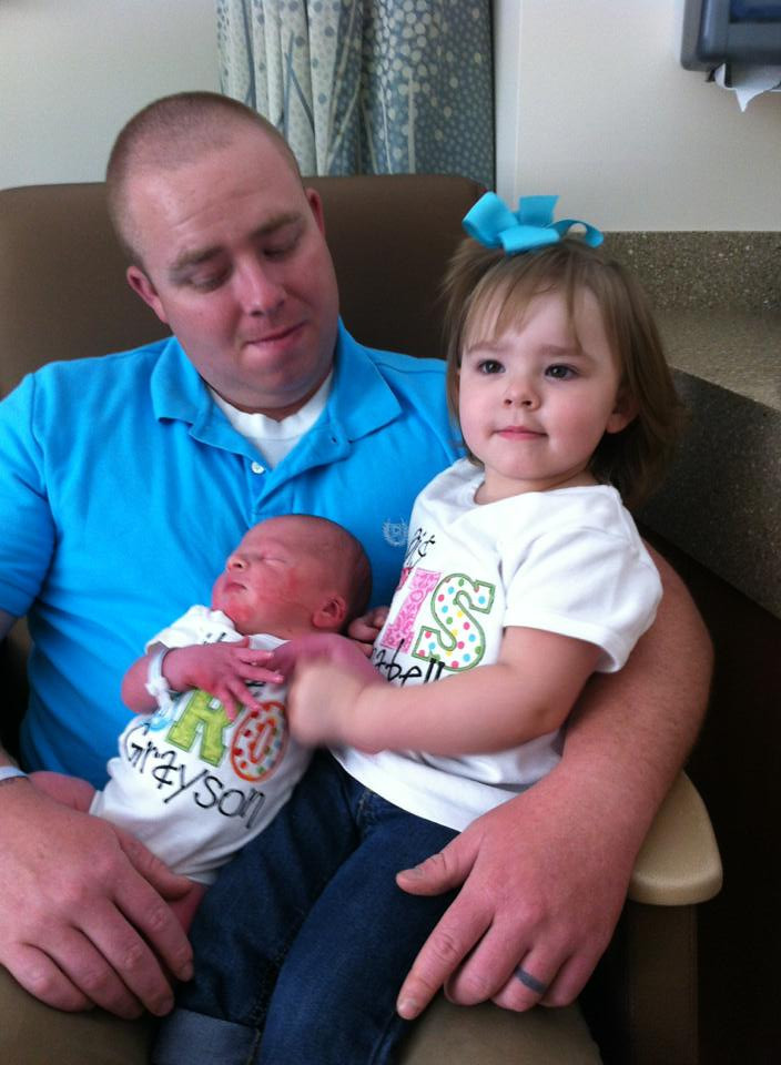 Trent, Grayson & Bella