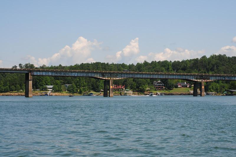 This bridge is in the Jasper area I think.