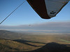 Above Gray Butte as smoke from the fire spreads to the northeast.
