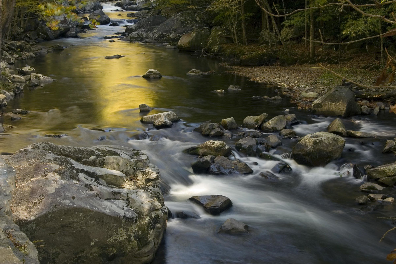 Little River, Tremont, Great Smoky Mountains National Park, Tennessee 2