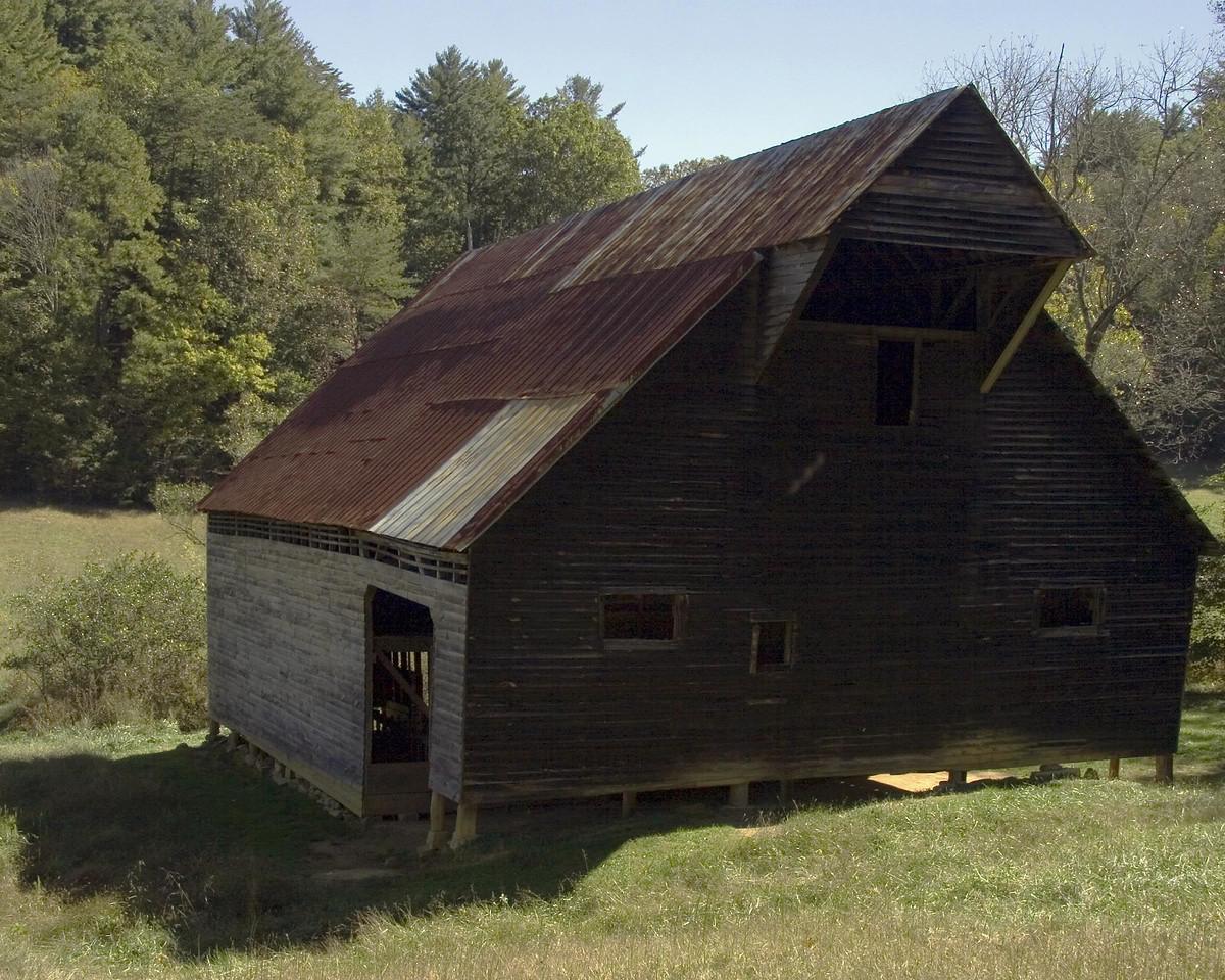 Barn at Cade's Cove 2 copy