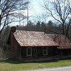 Picturesque old cabin near Buck Bald.