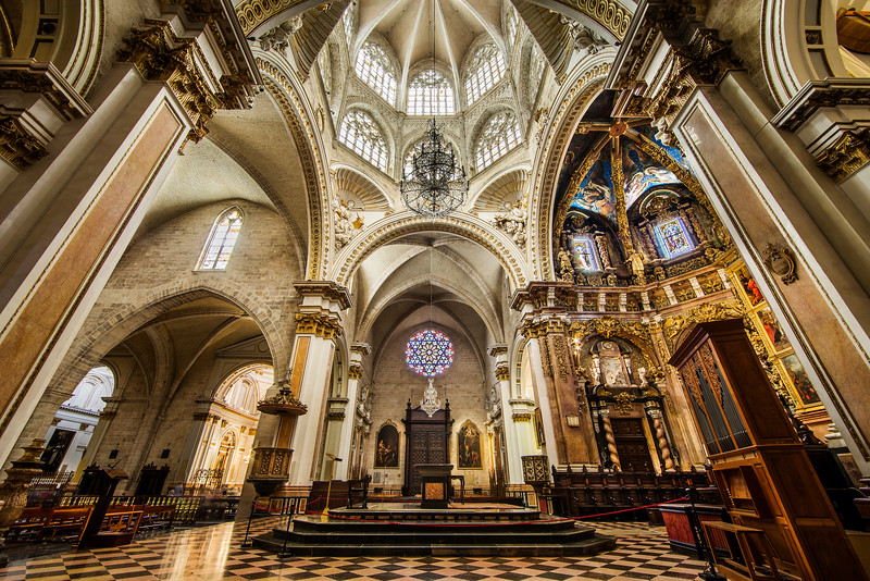 The Basilica of the Assumption of Our Lady of Valencia, Valencia, Spain