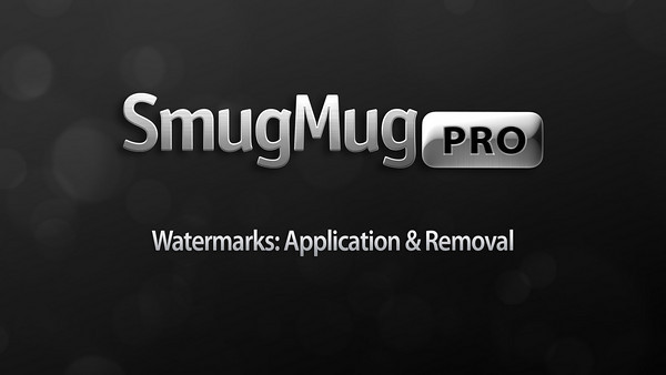 Watermark Application and Removal